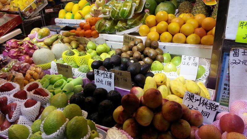 Snack on fresh fruit