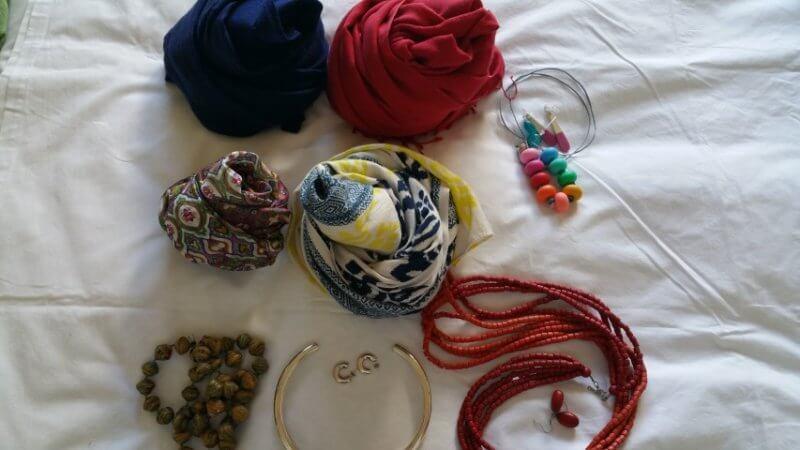 Travel Capsule Wardrobe Accessories