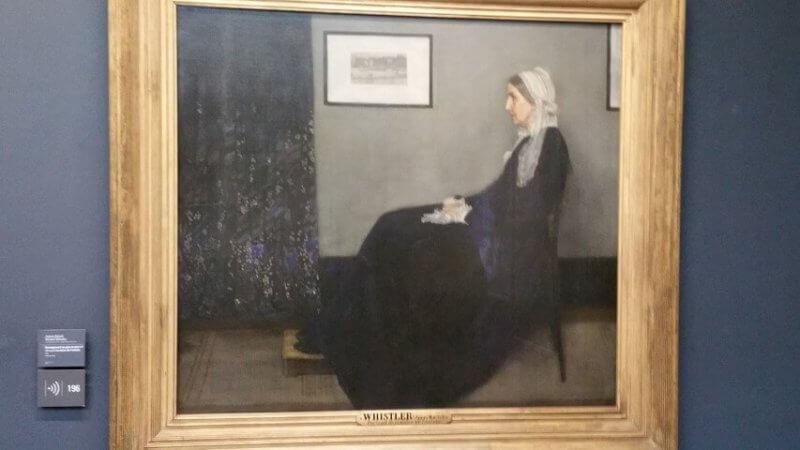 Whistler at Musee d'Orsay