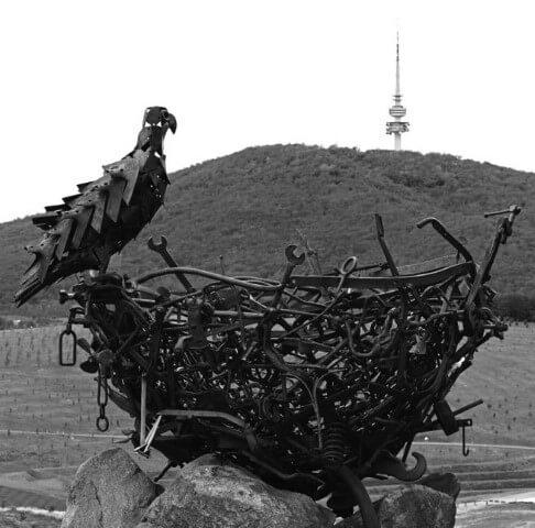 Sculpture National Arboretum Canberra