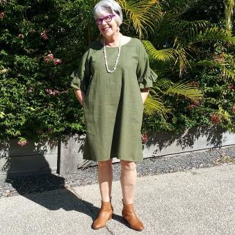 Look for the Olsen dress in the Basics range at Adrift Online