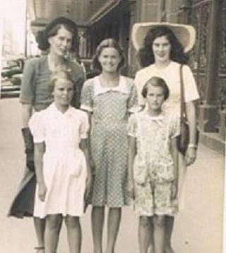 Monica Alice Wild and family members