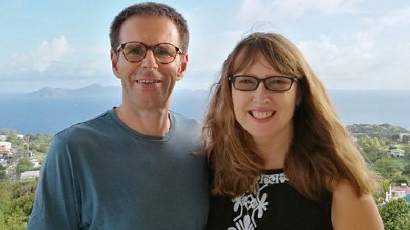 Vanessa and Ian publishers of Housesitting Magazine