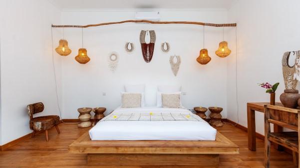bedroom at villa makasih