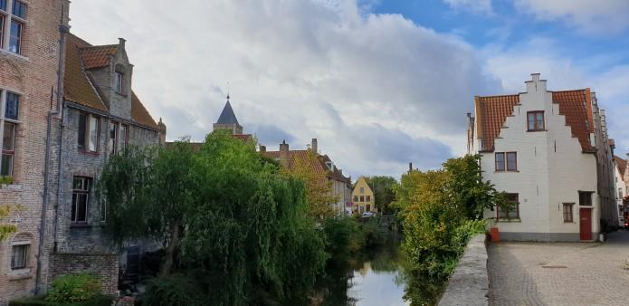 Street scence in Bruges