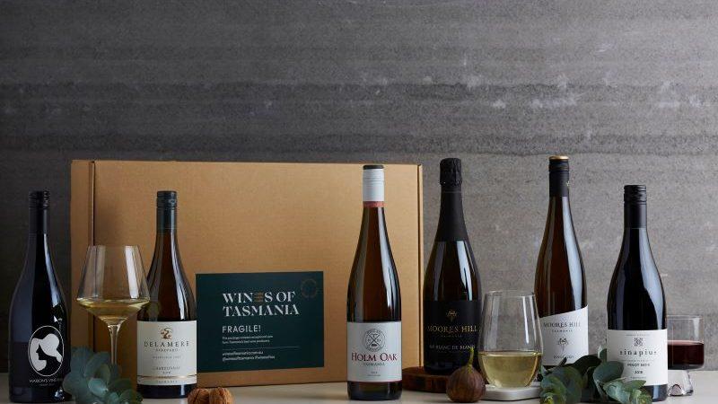 bottles of wines from tasmania